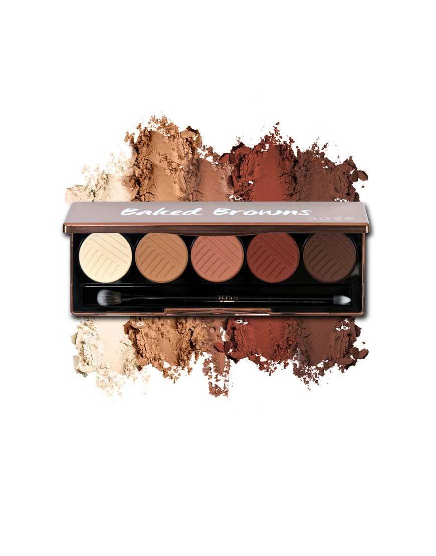Dose of Colors Baked Brown Eyeshadow