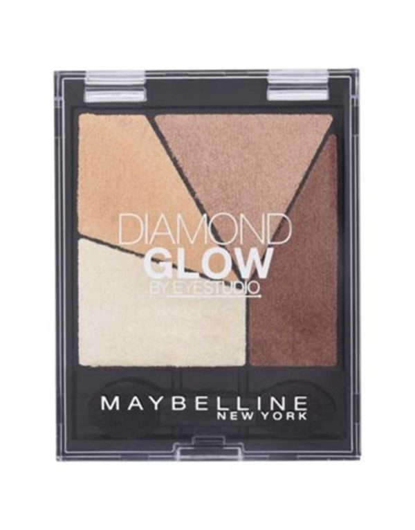 Diamond Quad Glow Eyeshadow 02 Coral Drama
