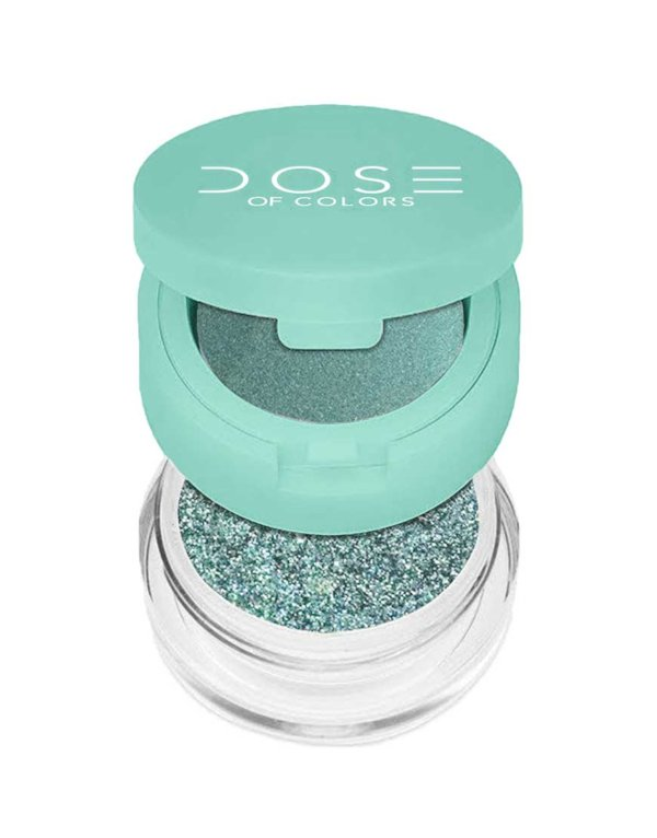 dose of colors eyedeal duo loose pigment and primer mint to be